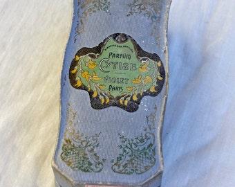 French Perfume Box A la Reine des Abeilles Parfum Cytise Violet Paris