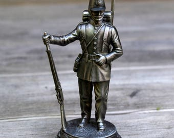Pewter French Soldier Infantry 1855 Figurine