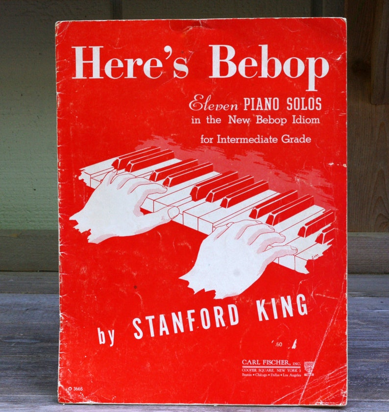 Here's Bebop Piano Solos by Stanford King