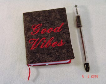 Good Vibes Mini Composition Notebook Cover