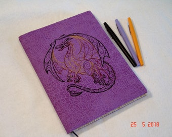 Black Dragon Composition Notebook Cover