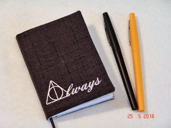 Harry Potter Deathly Hallows Symbol Always Mini Composition Etsy