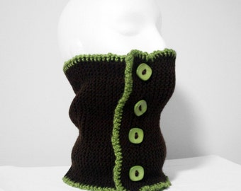 Hand-knit Neck Warmer