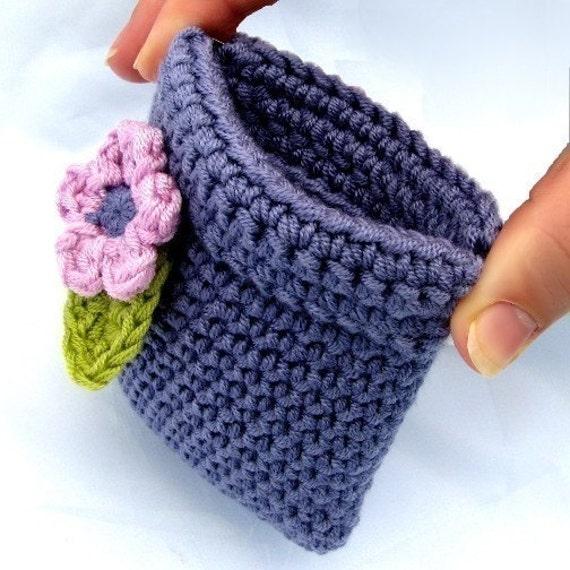 Coin Purse Crochet Pattern Coin Pouch Coin Purse Pinch