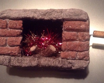 Mini Crank Fireplace