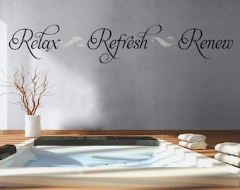 More Colors. Bathroom Wall Decal Relax ...
