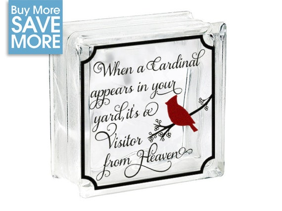 Christmas Vinyl Decals For Glass Blocks.Diy Christmas Decoration Glass Block Decal Christmas Vinyl Decal For Glass Block Christmas Light Glass Block Sticker When A Cardinal Appears