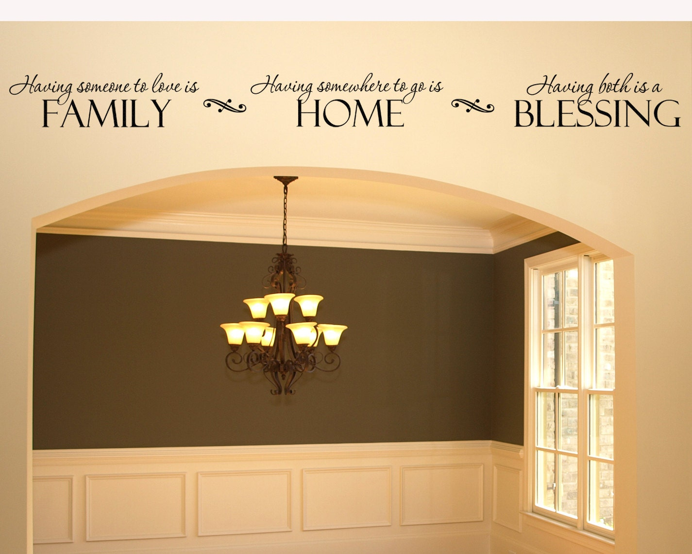 Home Decor Family Wall Decal Wall Sticker Having somewhere to | Etsy