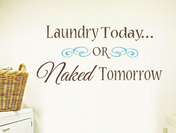 Items similar to Laundry Today or Naked Tomorrow - Vinyl