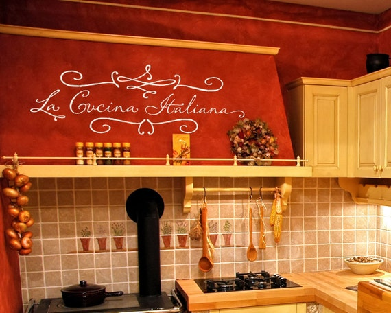 Kitchen Wall Decal \