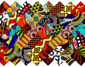 40 4 quot Fabric Squares African 20 Patterns Quilting Patchwork
