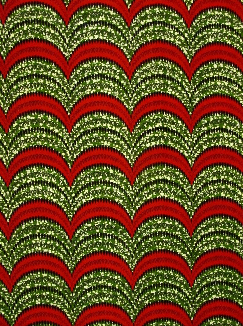 African Fabric 1//2 Yard Cotton Wax Print Ankara MULTICOLOR Kente BTHY