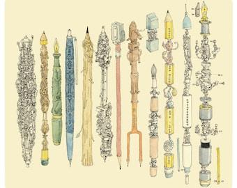 the Pen collector