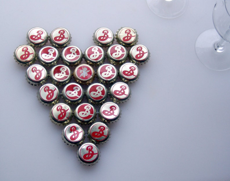 Love from Brooklyn to Oz  bottle cap trivet image 0