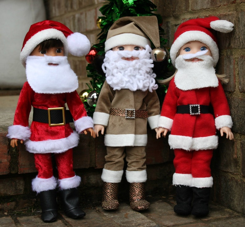 ed1f5755e1dbf Santa Suit for Wellie Wishers Dolls PDF Sewing Pattern sized