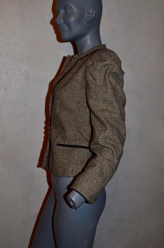 1970s Allen Bernard fitted jacket.  Suit blazer. … - image 6