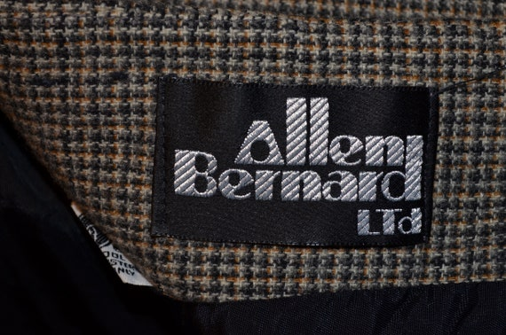 1970s Allen Bernard fitted jacket.  Suit blazer. … - image 9