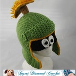 Crochet Pattern 055 - Alien Martian Hat - All Sizes