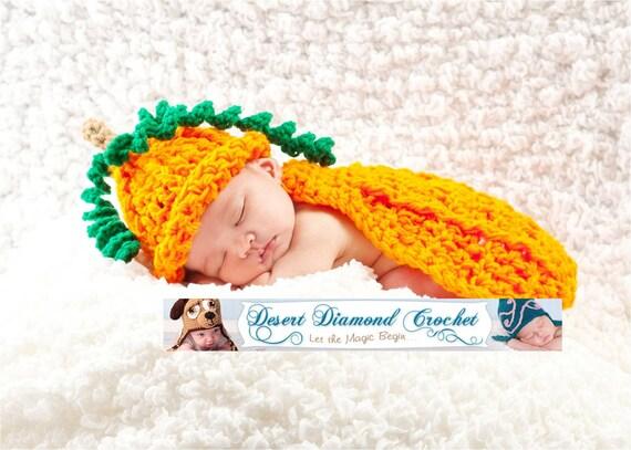 Pumpkin Patch Cuddle Critter Cape Newborn Photography Prop