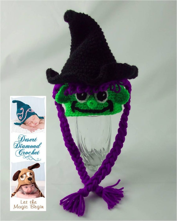 Witch Hat - Any Size - Any Color Combo