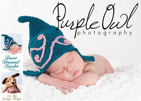 Crochet Pattern 014 - Swirl Gnome Beanie Hat - All Sizes
