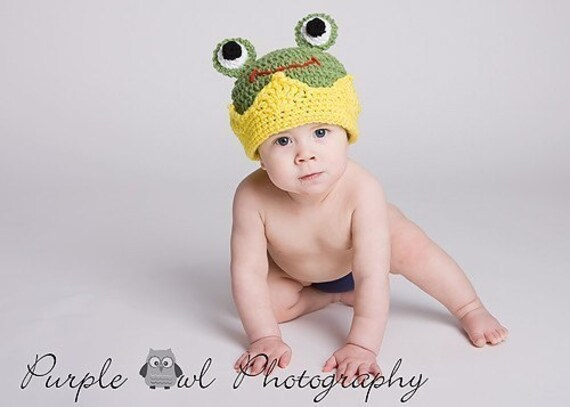 Frog Prince Crown - Any Size - Photography Prop