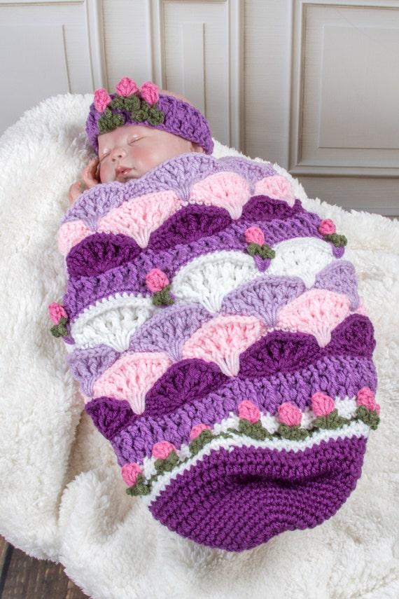 Eva Marie Spring Tulip Baby Cocoon