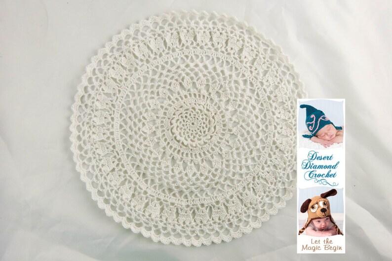 Crochet Pattern 094  Nana's Doily image 0