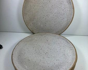 Handmade Pottery Dinner Plate, Cake Plate