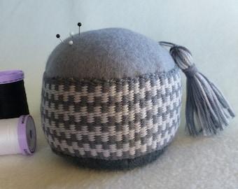 Handwoven Pincushion * large