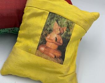 Cat Buddha lavender sachet