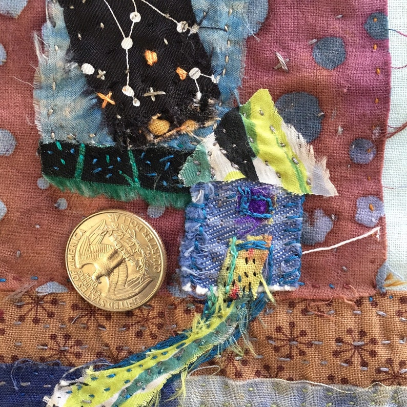 Path and House wall hanging