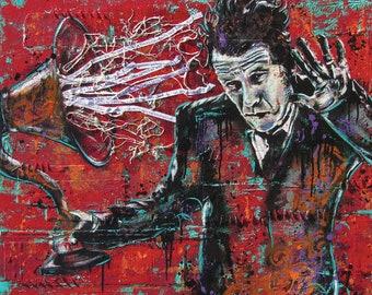 Tom Waits - Real Gone - 18 x 12 High Quality Pop Art Print