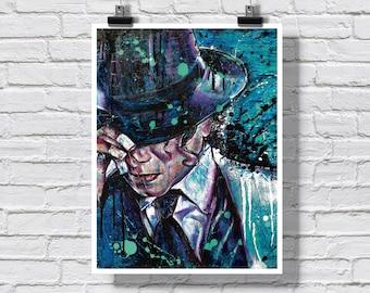 "Poster Print 18x24"" - Micheal Jackson - Smooth Criminal King of Pop Dancing Music Pop Music Legend Jackson 5"