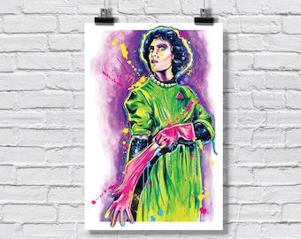 "Print 12x18"" - Dr. Frank N Furter - Rocky Horror Picture Show Time Warp Again Transvestite Transexual Transylvania"