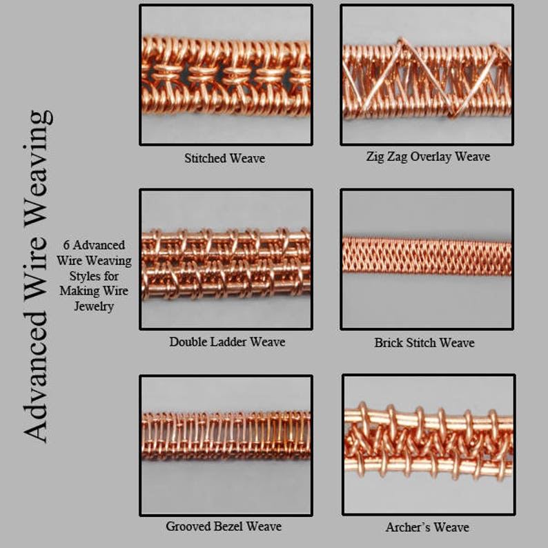Advanced Wire Weaving  Wire Wrapped Jewelry Tutorial image 0