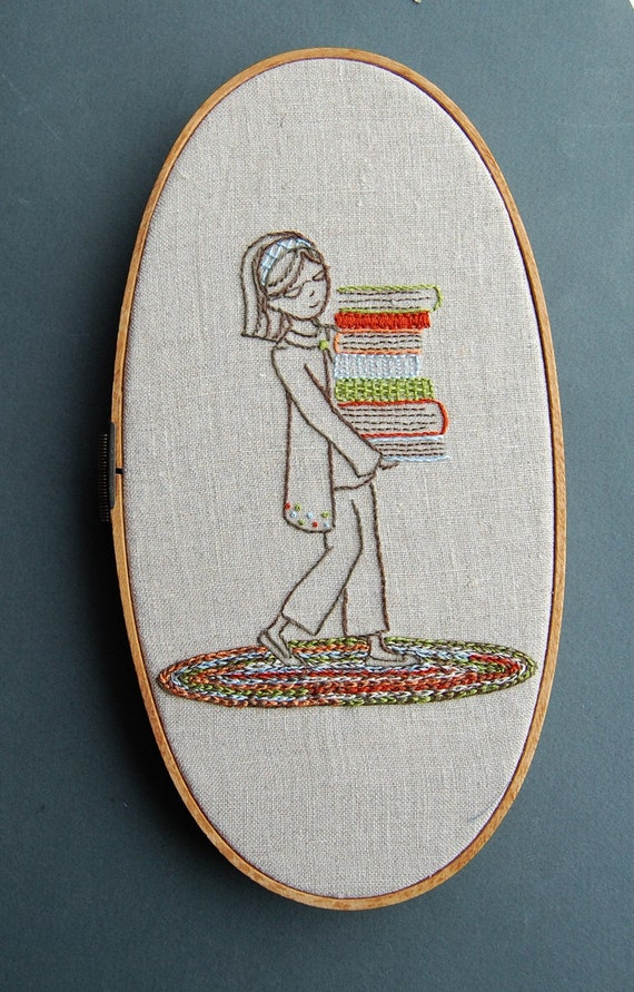 Embroidery Patterns Booksmart Hand Embroidery Patterns Back Etsy