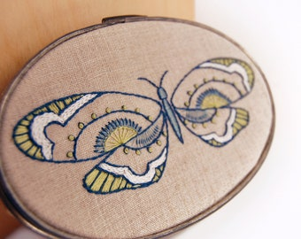 Butterfly Embroidery Designs |  | PDF Download Patterns | Hand Embroidery Patterns | KALEIDOSCOPE | Modern Embroidery | Beginner Embroidery