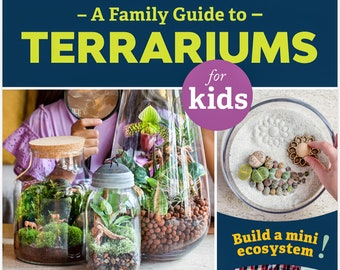 A Family Guide to Terrariums for Kids Book by Patricia Buzo
