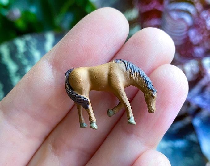 Terrarium Garden Miniatures: Teeny Tiny Horse Figurine