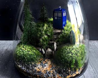 Doctor Who Tardis Terrarium Gift Set