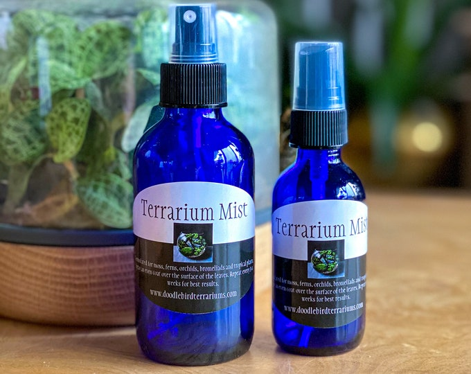 Terrarium Mist for Moss, Orchids and Tropical Plant Fertilizer