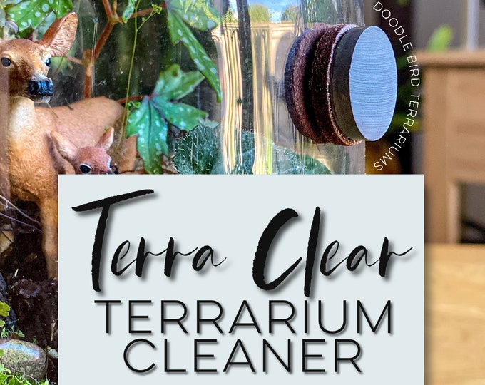 Terra Clear Terrarium Cleaner for Fog and Condensation