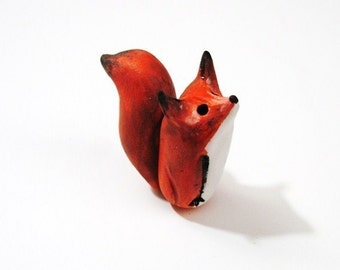 Woodland Creatures - Tiny Red Fox