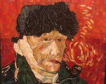 Glass Mosaic of Van Gough