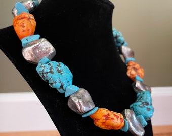 Unique Handmade Bead Necklace