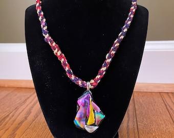 Unique Handmade Weaved Necklace