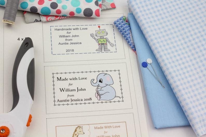 photo regarding Printable Quilt Labels known as Printable Quilt Labels Kid Quilt Labels Boy Little one Boy Quilt Labels Printable Labels Editable Quilt Labels