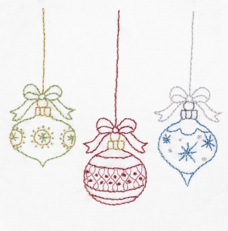 Christmas Embroidery Pattern Merry Christmas Embroidery image 0