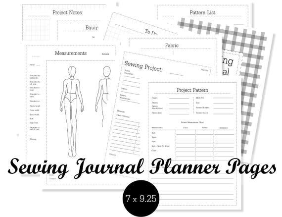 photograph relating to Discbound Planner Pages Printable identify Sewing Magazine Planner Webpages Sewing Disc certain Planner Printable Sewing Planner